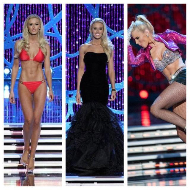 Allyn Rose at Miss America 2013