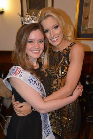 Miss DC Send Off 2012, Allyn Rose and Cate Dillon, photo by Bruce Guthrie